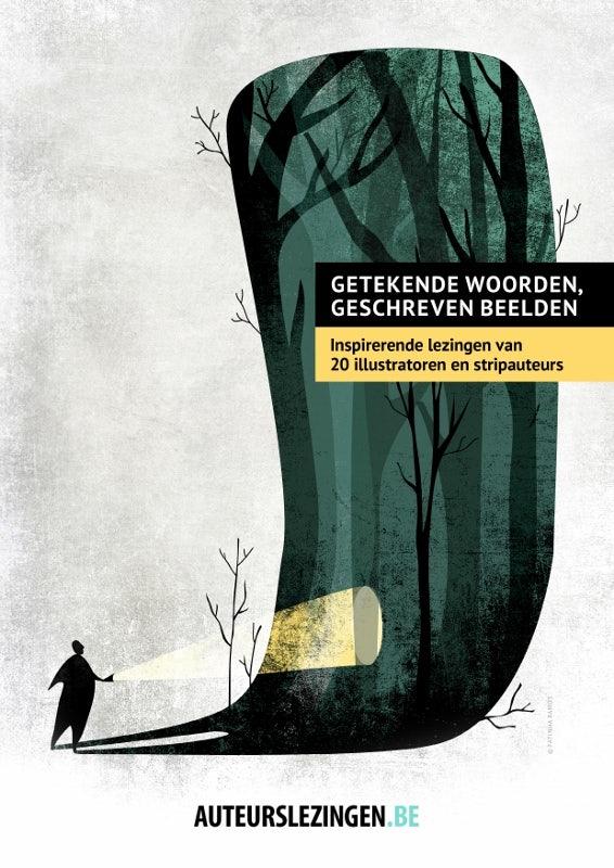 Cover 'Getekende woorden, geschreven beelden'