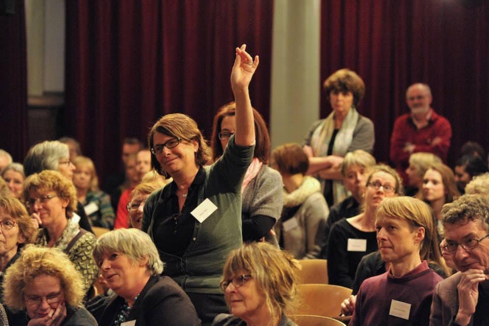 Publiek op de Vertaaldagen