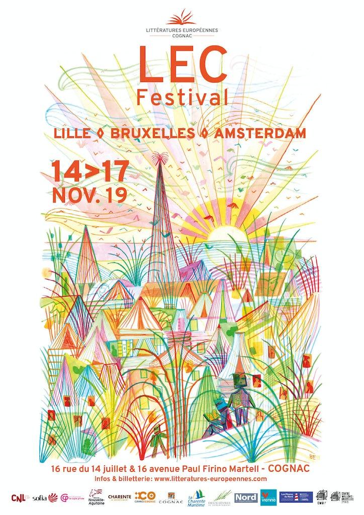 Affiche LEC festival 2019