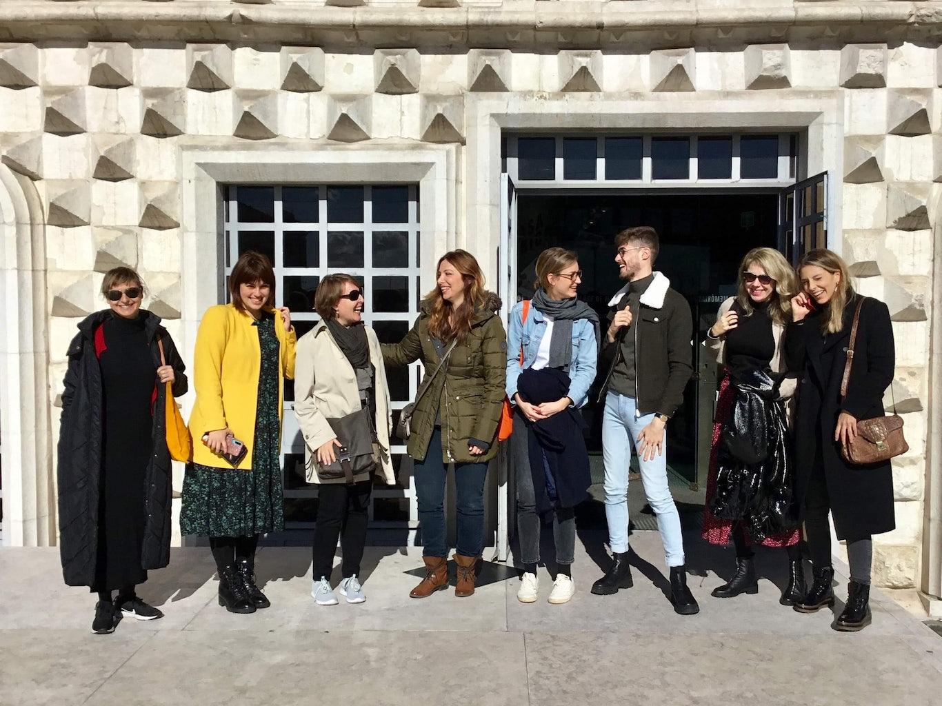 De Europese partners van Every Story Matters tijdens de conferentie in Lissabon eind 2019