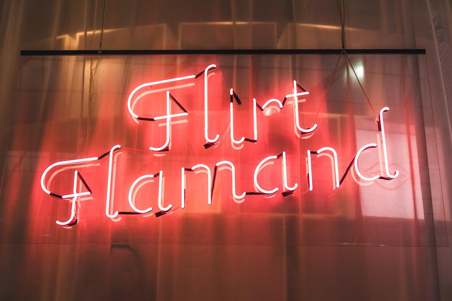 Flirt Flamand neon