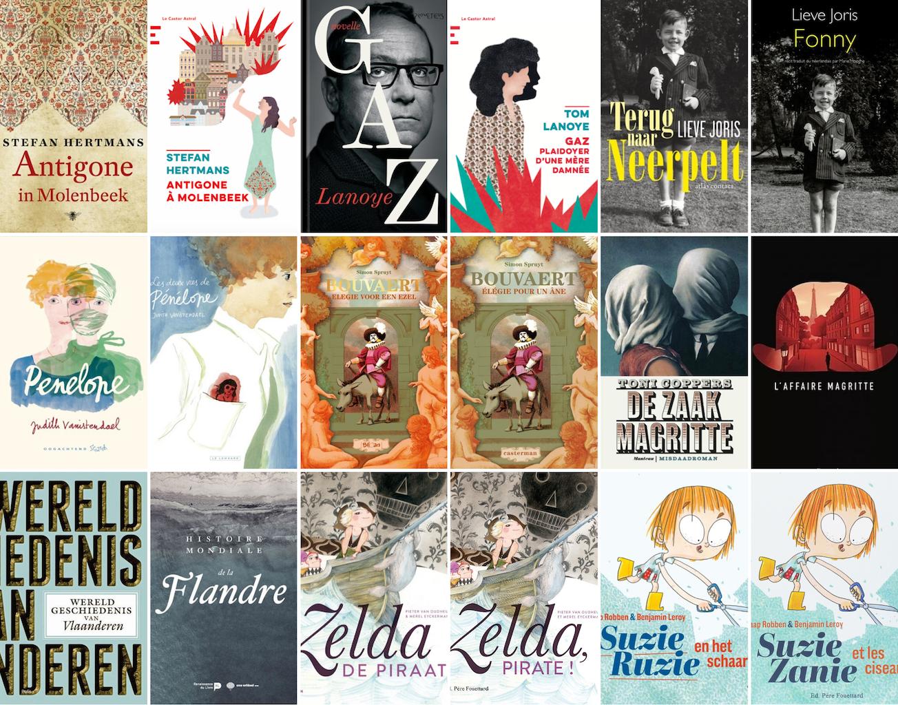 Covers auteurs Flirt Flamand 2020