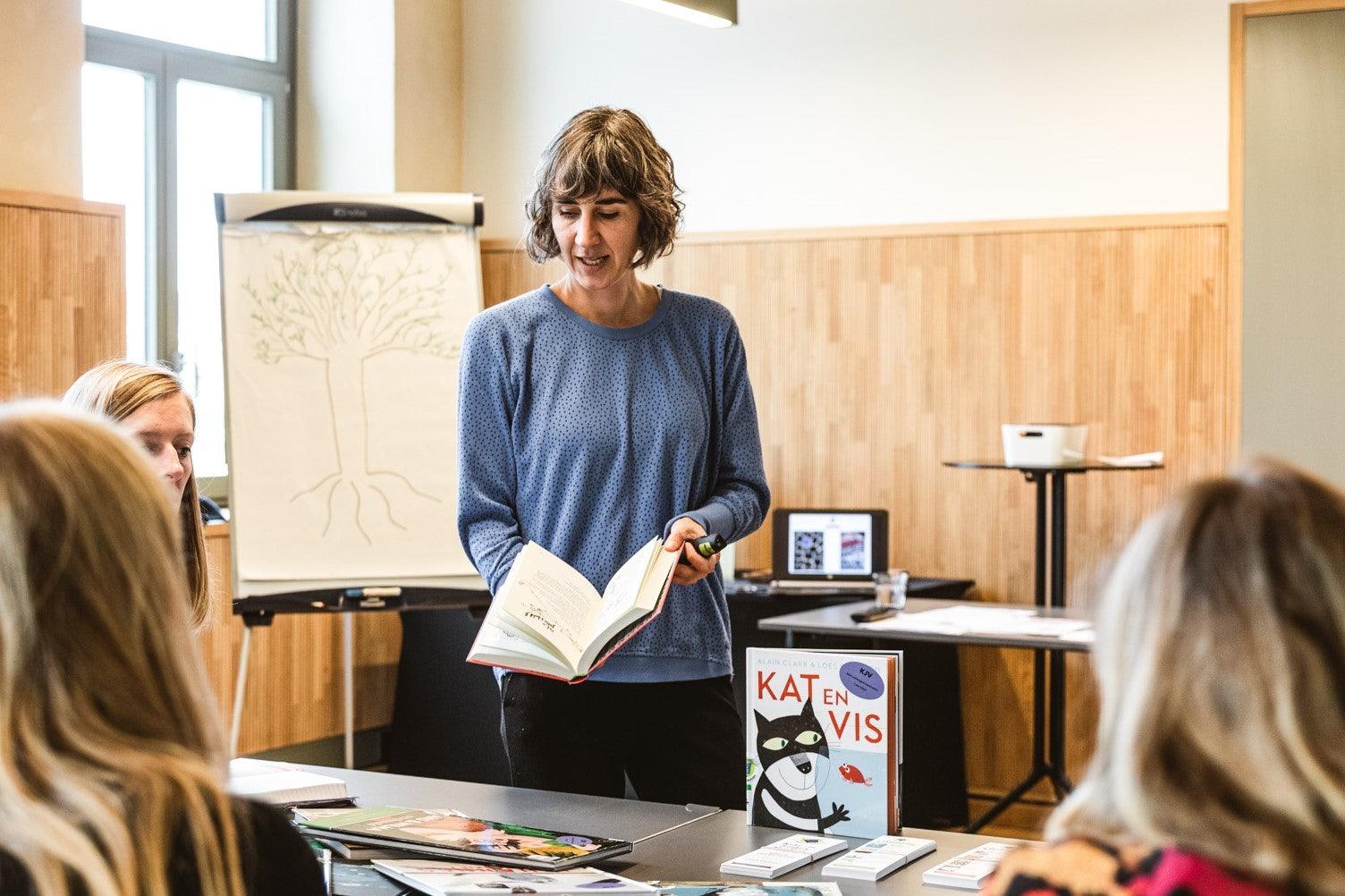 Griet Loix is coördinator van de Kinder- en Jeugdjury
