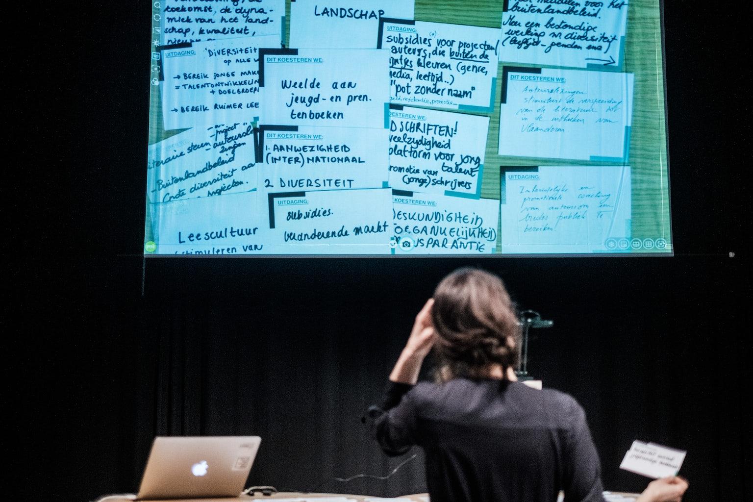 Brainstorm Literatuur Vlaanderen