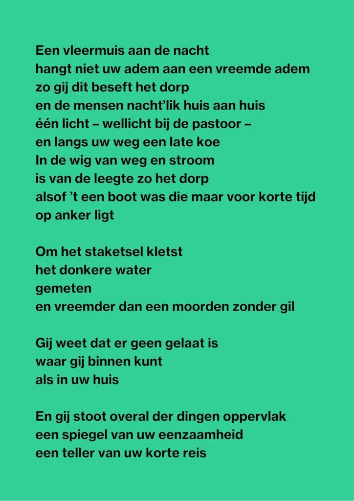 Gedicht Het Dorp Paul Van Ostaijen 2021