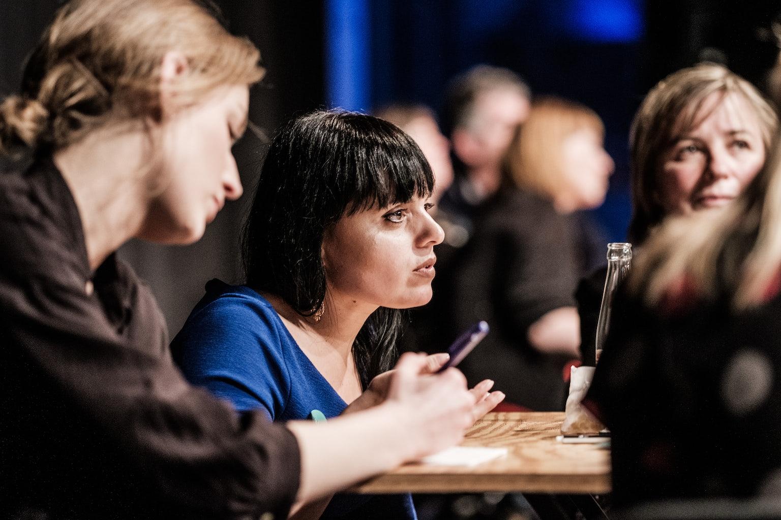brainstormen over beleid Literatuur Vlaanderen