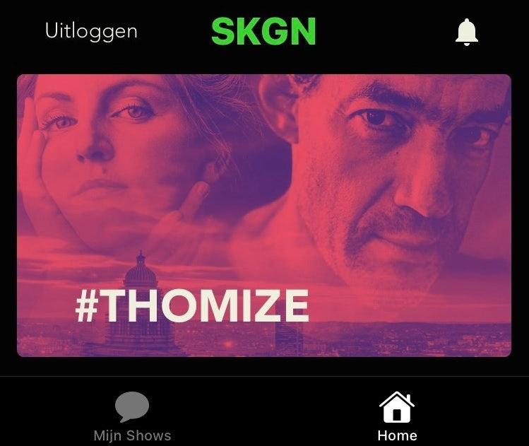 #THOMIZE in SKGN app
